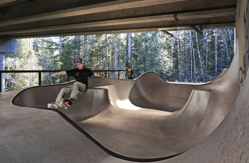 slasher bowl squamish skate park